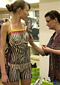 Bulgarian brand Denyl presented their Spring-Summer collection with body art