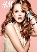 H&M избраха модела Фрида Густавсон за лице на своята пролетна кампания