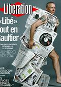 Жан-Пол Готие облече с хартия журналисти от френски   ежедневник