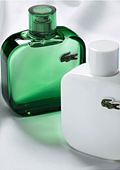 Lacoste presented its new fragrance collection L.12.12