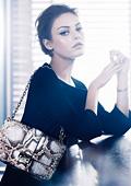 Мила Кунис стана лице на чантите Диор