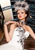 """Модна  къща """"ОДЕТА"""" засне новата си колекция сватбени и вечерни тоалети """"МАГНЕТИК"""" 2011-2012"""