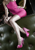 Paradox London Pink 2012 Bridal Shoes Collection