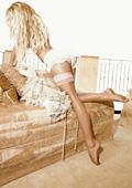 Памела Андерсън пусна собствена линия чорапогащи