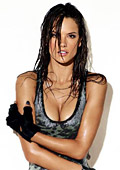 Alessandra Ambrosio covers GQ Brasil's April 2011 issue