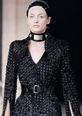 Paris Fashion Week: Alexander McQueen Autumn/Winter 2011 collection