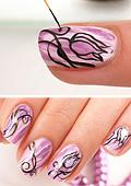 """Дизайн за нокти  """"Принцесата на лалетата"""""""