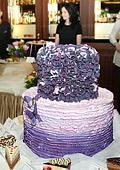 Лилаво, розово и пепел от рози са актуалните  цветове за сватбени декорации за 2011