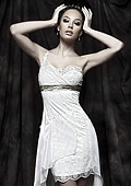Short bridal dresses are a key fashion trend for 2011