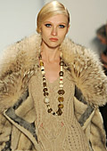 Faux leather and fur are on trend this season