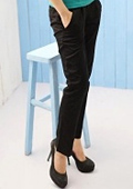 How to wear black trousers