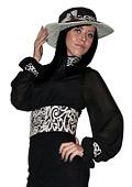 Модна колекция дрехи с украса от ориз