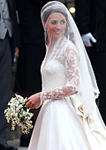 Kate Middleton`s wedding dress arrives in Bulgaria