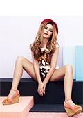 Cheryl Cole presents second collection of shoes for StylistPick