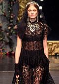 Романтика в сицилиански барок - колекция есен-зима 2012-2013 на Долче и Габана