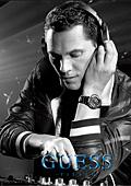 Марката GUESS в сътрудничество с DJ Tiësto