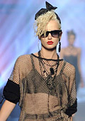Jean Paul Gaultier fetes 80s icons at Paris Fashion Week