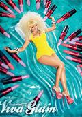 Ники Минаж с жълт бански в реклама на МАС