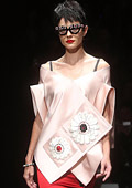 Prada presented a Japan-inspired Spring-Summer 2013 collection in Milan