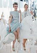 Принцесата на бял кон - пролетни колекции за 2012