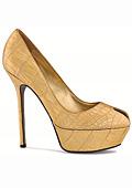 Обувки от злато и сребро
