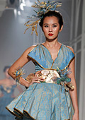 The Queen of Thai Silk at the Bangkok Couture Fashion Week 2012