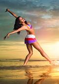 Мода  и комфорт на плажа от adidas