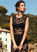 Lace mini dresses conquered summer 2012