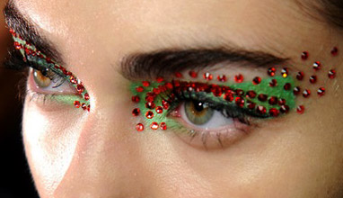 Dior make-up with Swarovski crystals for Spring-Summer 2013