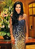 Мисис България 2012 Катя Роуз с корона от конкурса Мисис Европа и награда за най-хубав тоалет