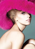 Lady Gaga wears just a hat for a Vogue photo-shoot