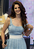 The singer Lana del Rey has become a fashion face of H&M