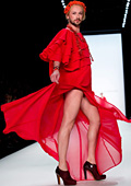 Мъже на токчета дефилираха на Седмицата на модата в Берлин