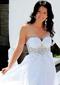 Мисис  България 2011 Катя Роуз  на корицата на Сватбен каталог