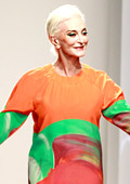 World's oldest supermodel Carmen Dell'Orefice to the catwalk at New York Fashion Week