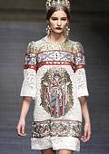 Dolce & Gabbana есен-зима 2013/2014 - Богатство и декорация