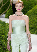 Haute Couture Spring-Summer 2013 collection of Christian Dior at Paris fashion week